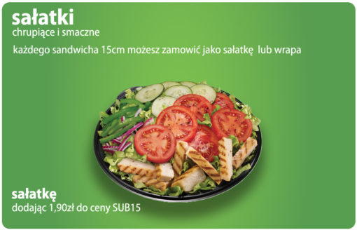 Sałatka SUBWAY Club